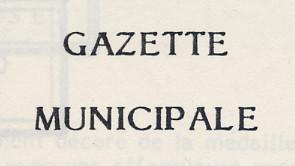 Gazette de Décembre 1991